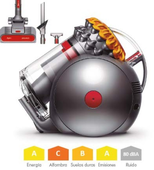 Aspirador Dyson BIGBALL Multifloor2(222381-01 Ojo