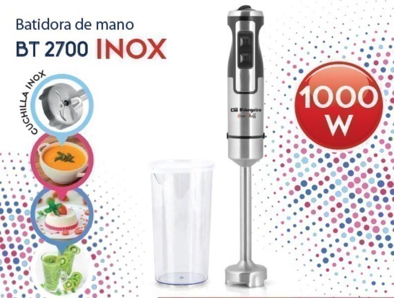 Batidora Orbegozo BT2700 1000w Inox