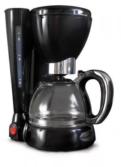 Cafetera Hjm CAF107 Goteo 6-8 Tazas Negra