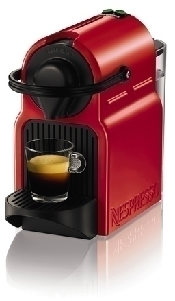 Cafetera Krups XN1005PR5 Nespresso Inissia Roja