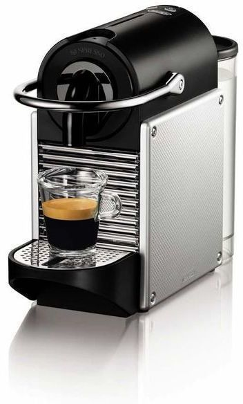 Cafetera Delonghi EN125S Nespresso Pixie Plata