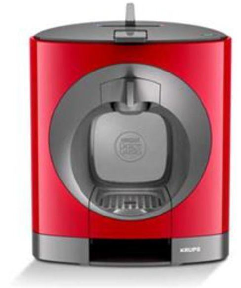 Cafetera Krups KP1105IB Dolce-gusto Oblo Roja