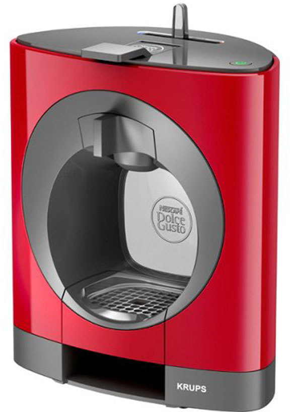 KRUPS CAFETERA KP1105IB DOLCE-GUSTO OBLO ROJA
