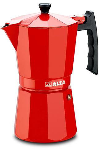 Cafetera Alza LUXE Red 6t Aluminio Induccion