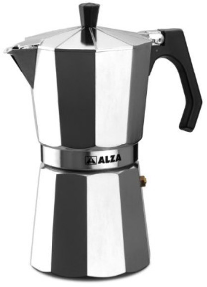 Cafetera Alza BASIC 12t Aluminio