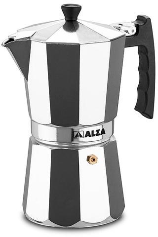 Cafetera Alza LUXE 9t Aluminio Induccion