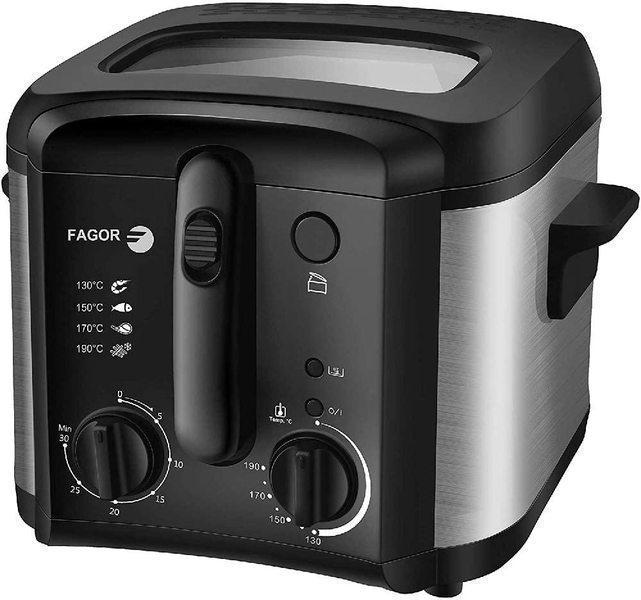 Freidora Fagor FGRC200 2,5l 1600w Inox