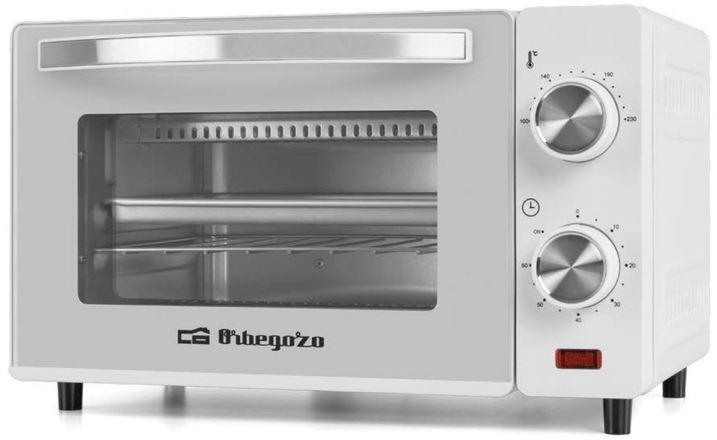 Minihorno Orbegozo HO970 10 Lts Blanco 650w