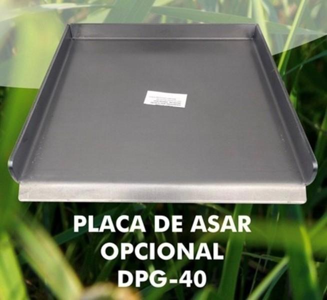 Placa Open DPG40 Asar 40cm Profesional 6mm