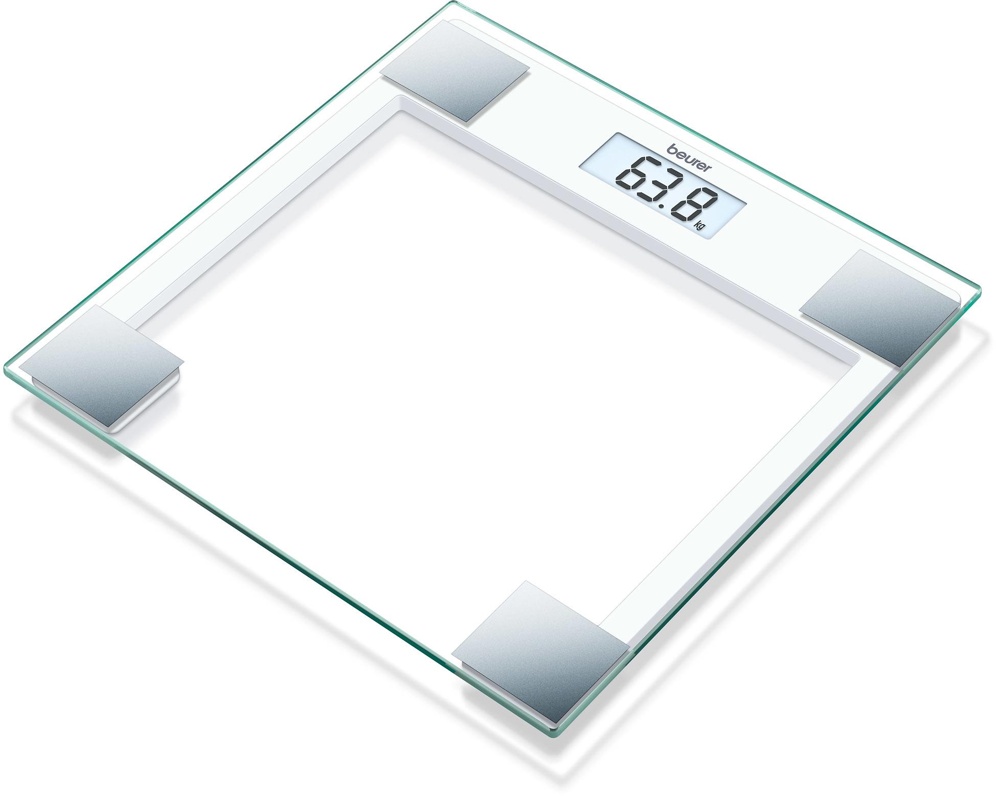 Peso Beurer GS14 Baño Digital Cristal(river)