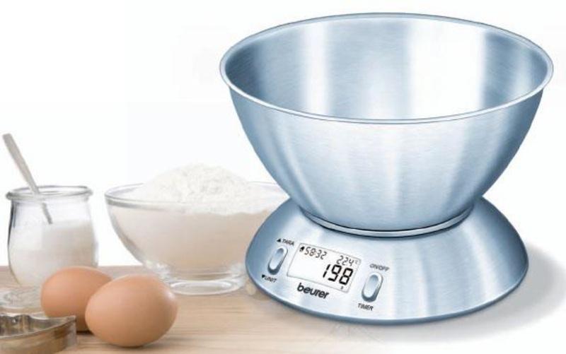 Peso Beurer KS54 Cocina Acero 5kg (river)
