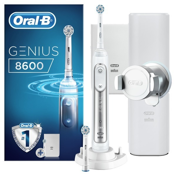 Cepillo Oralb DENTAL Genius 8600w Silver