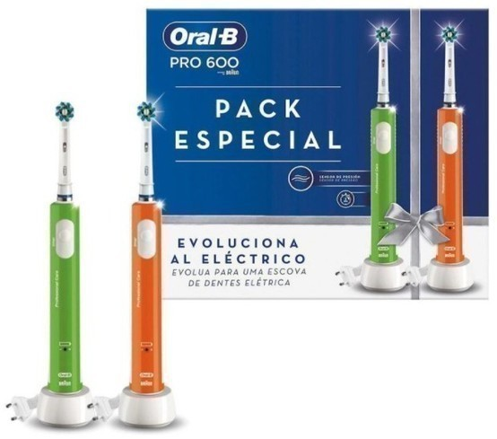Cepillo Oralb DENTAL Duo Pro600