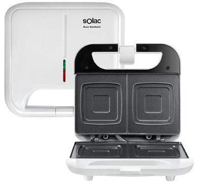 Sandwichera Solac SD5053 2cavidades 750w Blanca