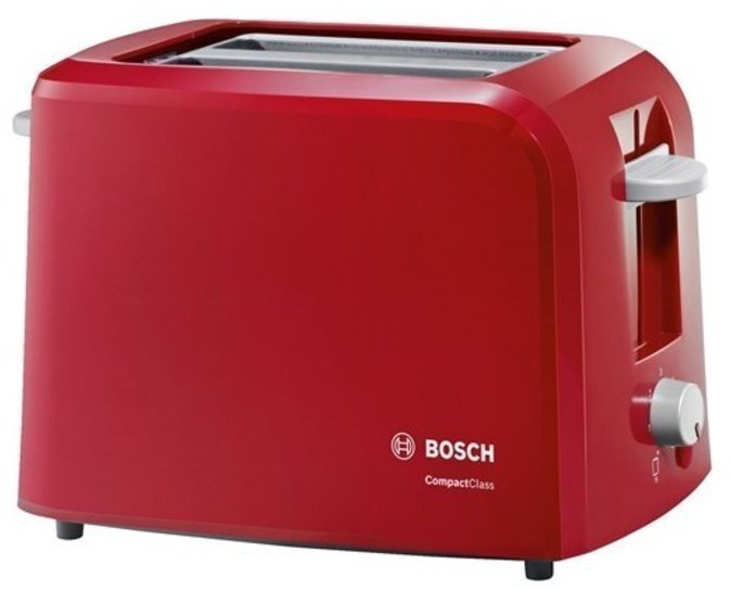 Tostador Bosch TAT3A014 2bocas 980w Rojo