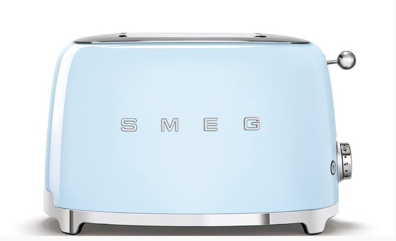 Tostador Smeg TSF01BLEU Azul Celeste 950w