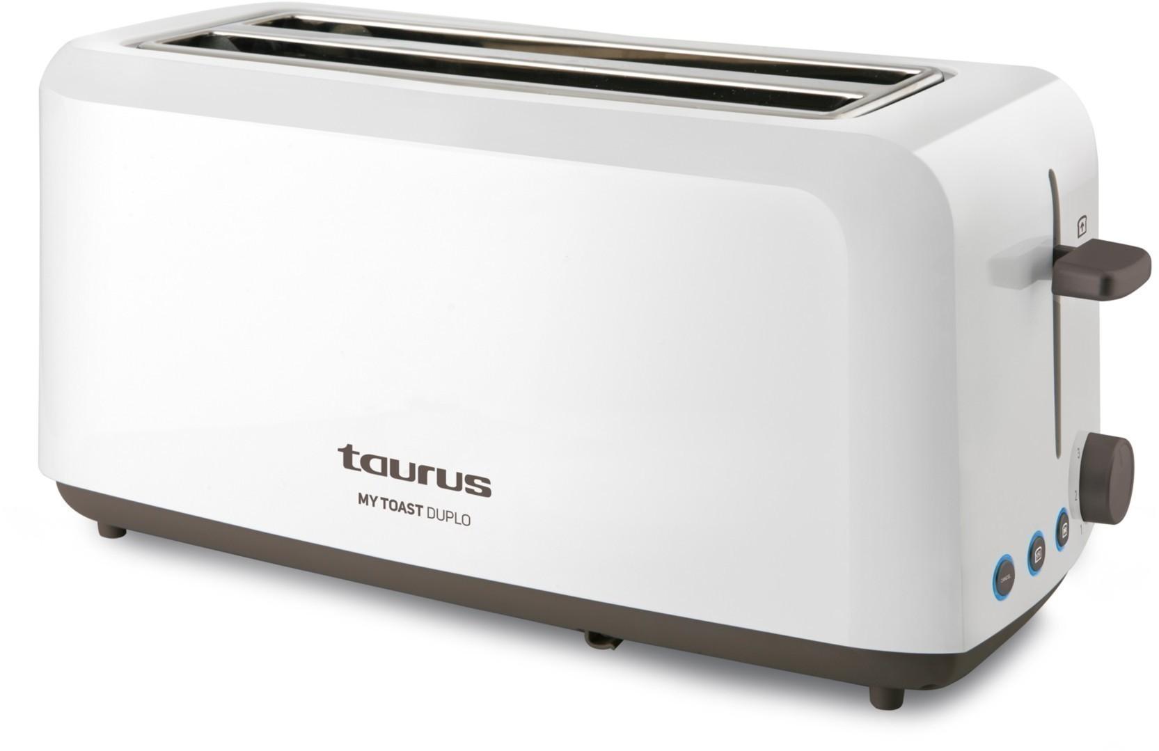 Tostador Taurus MY Toast Duplo 1450w