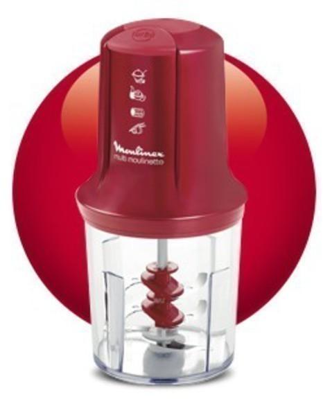 Picadora Moulinex AT714G32 500w Roja