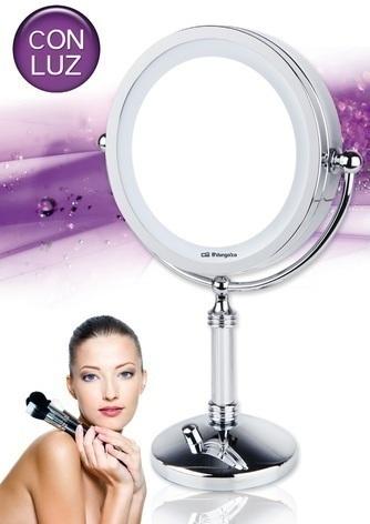 Espejo Orbegozo ES5130 Luz Pie-