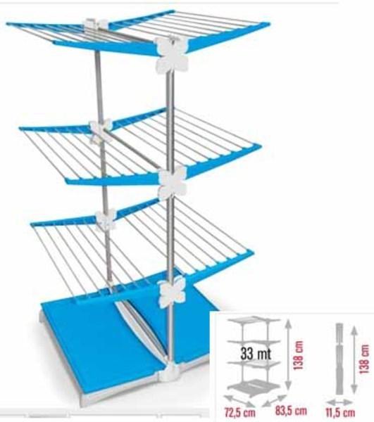 Tendedero Meliconi 7019115202BN Azul/blanco