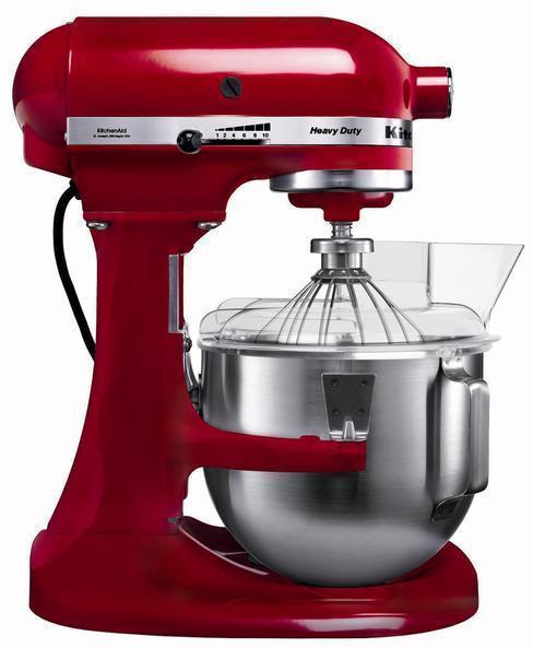Robot Kitchenaid 5KPM5E Cocina Heavy Duty 4.8l Roj