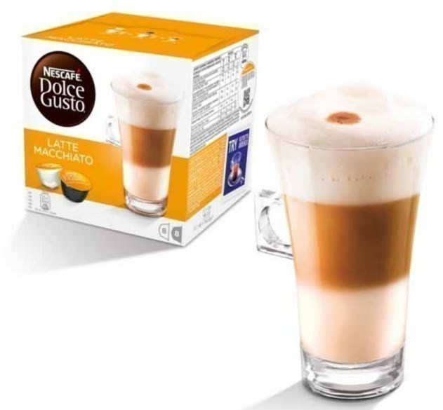 Gusto Dolce PACK16 Latte-macchiato