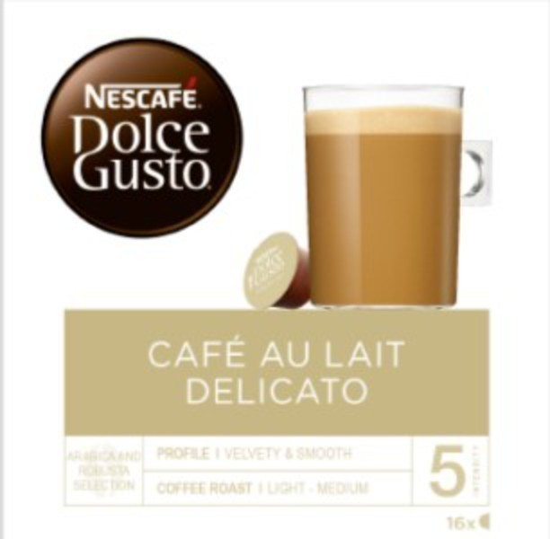Gusto Dolce PACK16 Con-leche Delicato 12415782