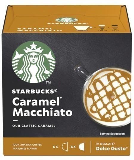 Gusto Dolce PACK12 Starbucks Caramel Macchi 98752