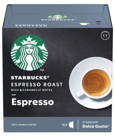 Gusto Dolce PACK12 Starbucks Espresso 12398574