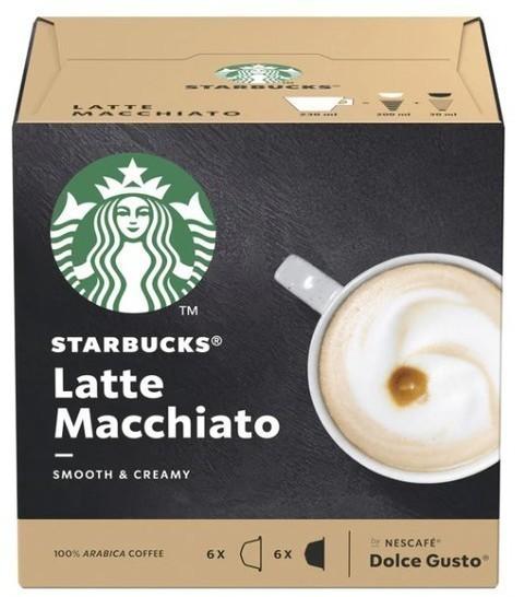 Gusto Dolce PACK12 Starbucks Latte Macchiat 98618
