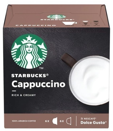 Gusto Dolce PACK6 Starbucks Cappuccino 98763