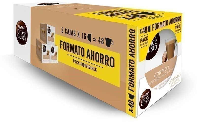 Gusto Dolce PACK3 Cortado-tripack 16x3