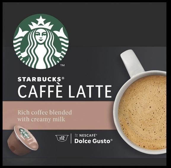 Gusto Dolce PACK12 Starbucks Cafe&leche (12449228)