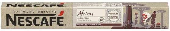 Pack10 Nespresso NESCAFÉ Africas (6600140)