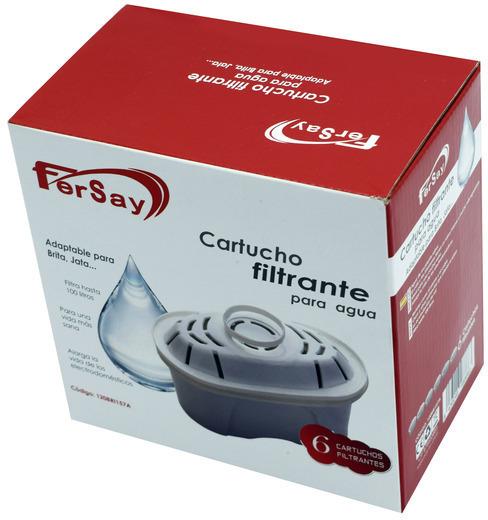 Filtro Fersay MAXTRA Pack6 120bri157a Para Brita