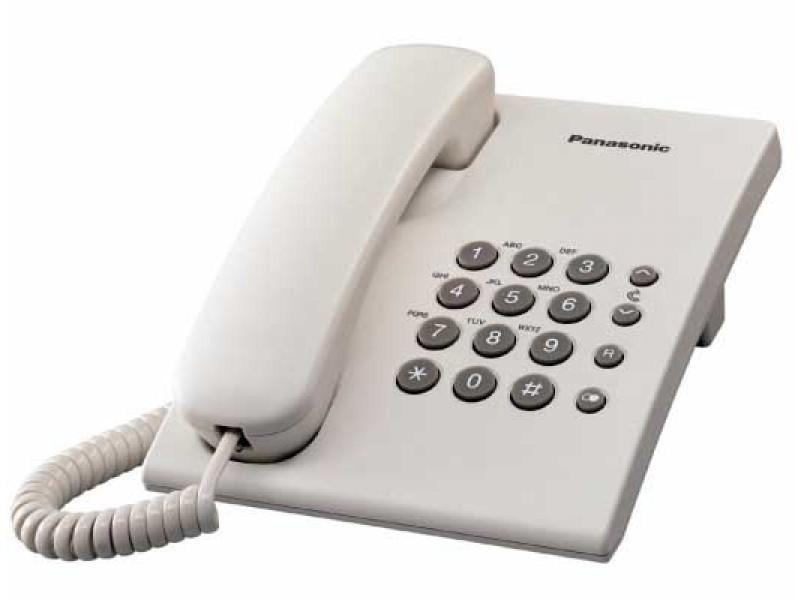 Telefono Panasonic KXTS500EXW Sobremesa Blanco