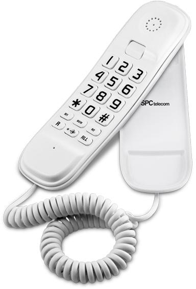 Telefono Spc 3601B Monopieza Blanco