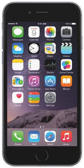 "Iphone Apple 6 128gb 4.7"" 8mp Gris Espacial Rewar"