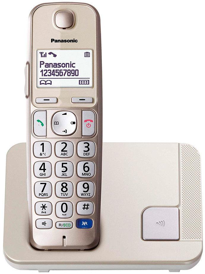 Telefono Panasonic KXTGE210SPN Dect Pers. Mayores