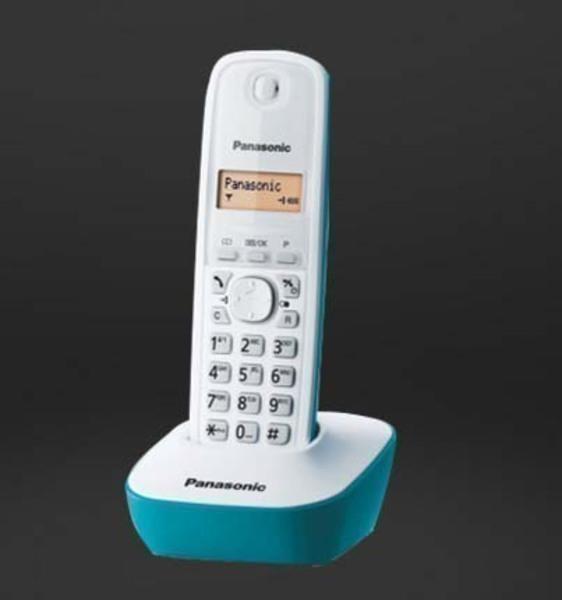 Telefono Panasonic KXTG1611SPC Basico Azul Caribe