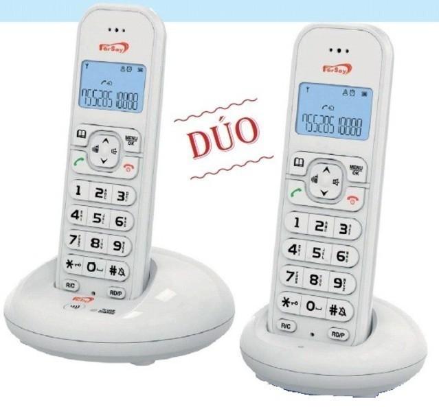 TELEFONO FERSAY DECT FERSAY-DECT1020B BLANCO