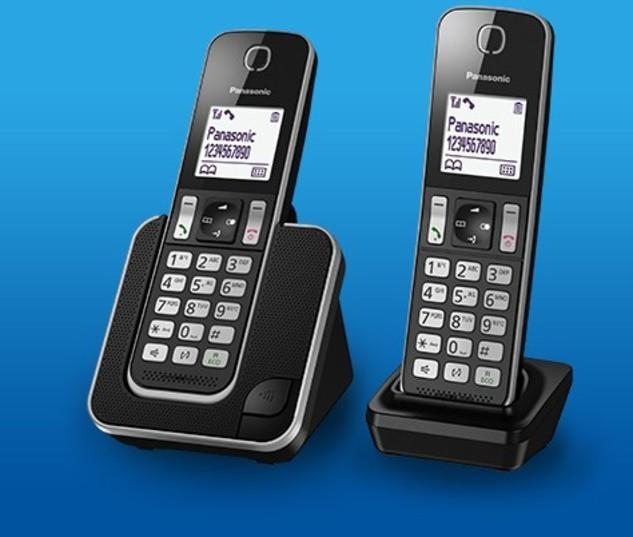 Telefono Panasonic KXTGD312SPB Duo Negro