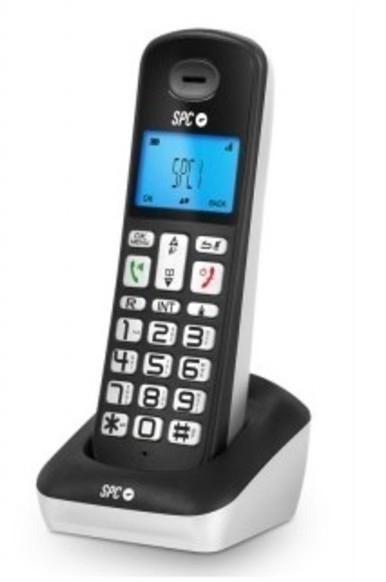 Telefono Spc 7320N Gossip Dect Negro
