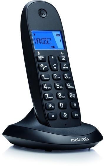 Telefono Motorola C1001LB+ Manos Libres Negro