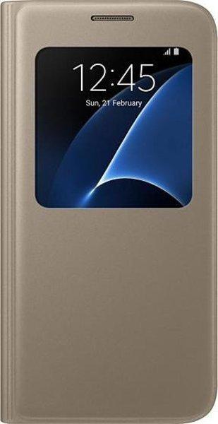 Funda Samsung SVIEW S7 Dorada