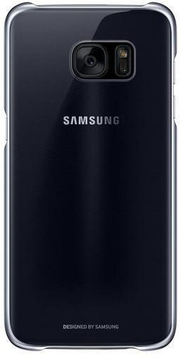 Funda Samsung CLEAR Cover S7 Edge Negro