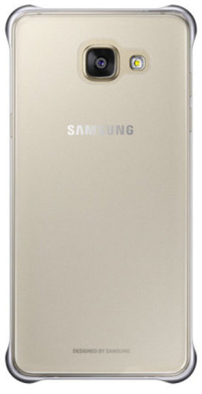 Funda Samsung CLEAR Cover S7 Dorado