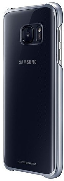 Funda Samsung CLEAR Cover S7 Negro