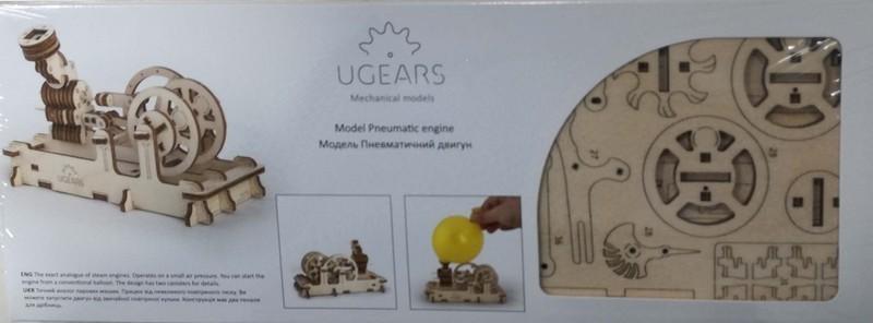 Maqueta Ugears MOTOR Neumatico
