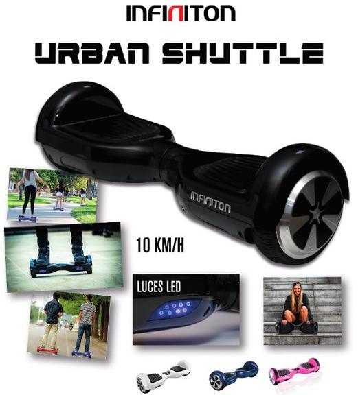 Scooter Infiniton URBAN Shuttle 10km/h Led Blanc**